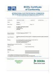 IECEx BVS 12.0009 X - R. Stahl