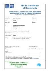 IECEx PTB 06.0090 - r. stahl