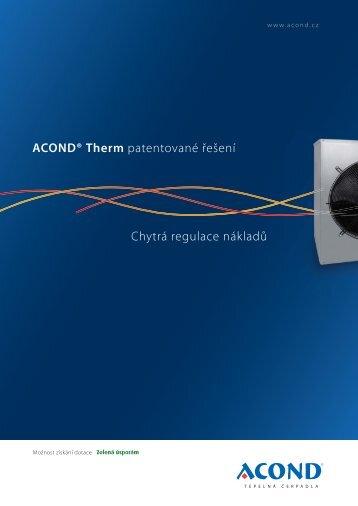 porspekt Acond Therm nove.indd - AMON RM, s.r.o.