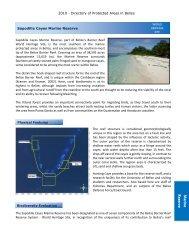 Sapodilla Cayes - Glover's Reef Marine Reserve
