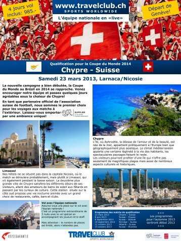 Suisse - Travelclub
