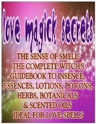 BOOK 1 (LOVE)-BONUS#1=Incense - The Love Spell Secrets