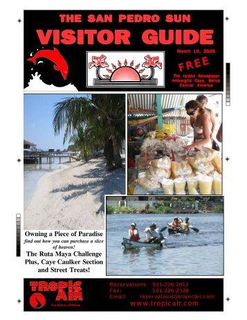 visitor guide - The San Pedro Sun