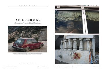 Aftershocks for Harpers Magazine - Nadia Shira Cohen