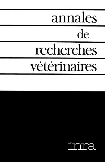 Untitled - Veterinary Research