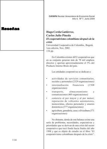 Cayapa Ultima 7 - Saber ULA