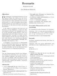 Rosmarin - tcm-reichmuth