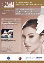 ICAAM Congress 2012 JoiN a TrULy UNiQUe ... - EuroMediCom