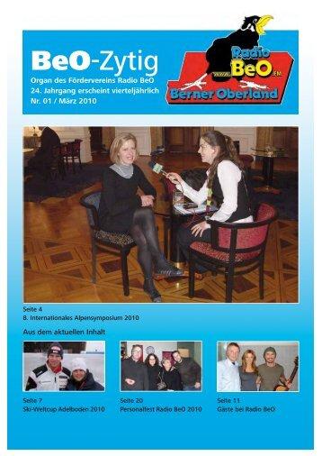 BeO-Zytig - Radio BeO