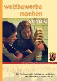 Die Wettbewerbe für Schülerinnen und Schüler in Rheinland-Pfalz ...