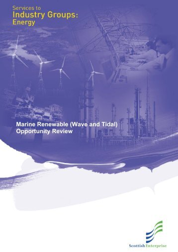 Marine Renewable (Wave and Tidal) Opportunity Review - Ocean ...