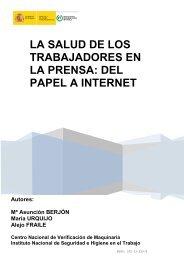LA SALUD DE LOS TRABAJADORES EN LA PRENSA: DEL PAPEL A INTERNET