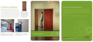 Laminate-Clad Interior Doors - Wilsonart