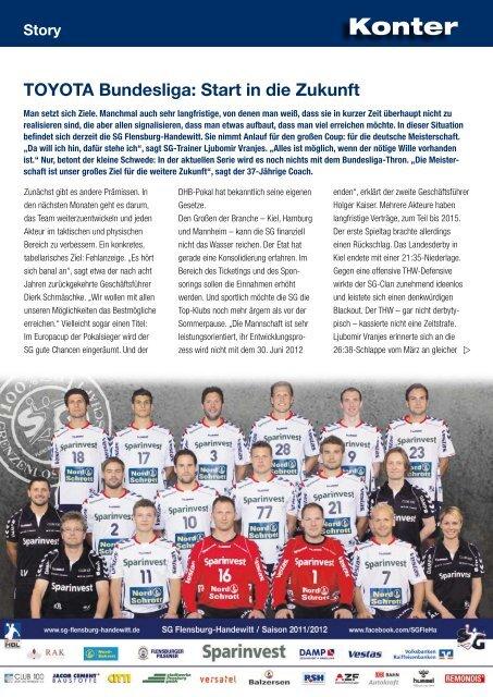 Story - SG Flensburg-Handewitt