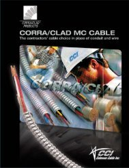 making CCI's Corra/Clad - CCIXpress