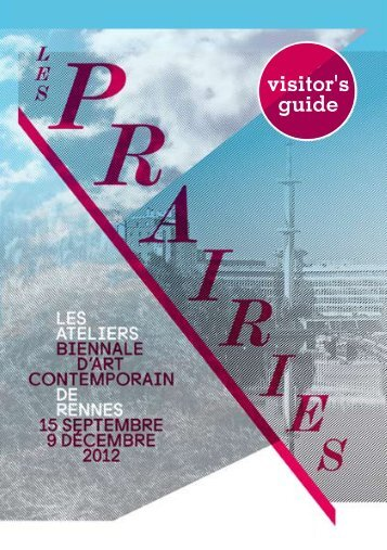 Download here the Visitor's guide. - Les Ateliers de Rennes