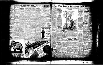 Gets Set-Back in Fight on Payment of - On-Line Newspaper Archives ...