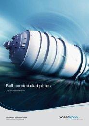 Brochure Roll-bonded clad plates - voestalpine