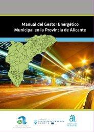 Manual del Gestor Energético Municipal en la Provincia de Alicante