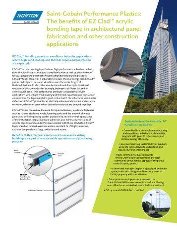 a global partner brochure saint gobain performance plastics pv. Black Bedroom Furniture Sets. Home Design Ideas