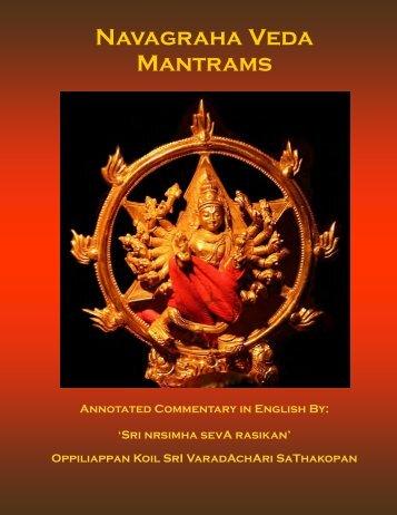 Navagraha Veda Mantrams - Ibiblio