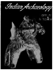 Indian Archaeology 1970-71 A Review - Archaeological Survey of ...