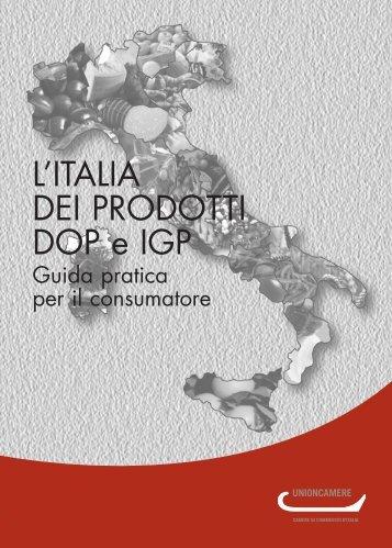 L'ITALIA DEI PRODOTTI DOP e IGP - Unioncamere