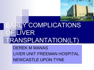 Transplantation - ILTSeducation