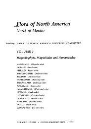 Flora of North America - Index of