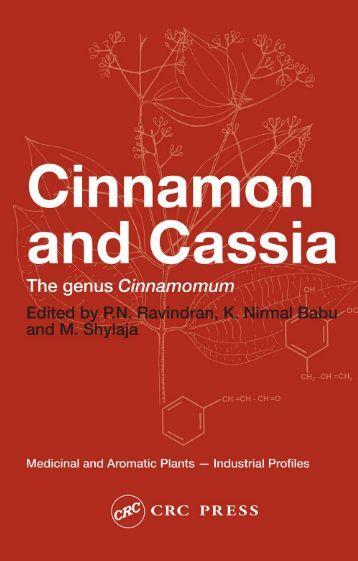 The genus Cinnamomum