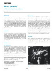 Mirizzi syndrome - medIND