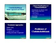 Choledocholithiasis: Which Approach and When