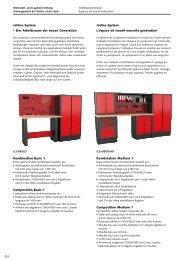Jetline-System – Der Arbeitsraum der neuen ... - Technomag AG