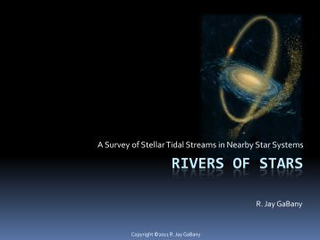 Rivers of Stars
