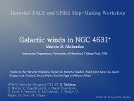 Galactic Winds in NGC 4631 (Marcio Melendez) - Herschel