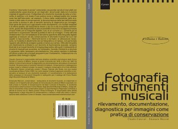 Fotografia di strumenti musicali - conservazione strumenti musicali
