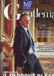 Gentleman – Ottobre 2007 - Terre Bianche