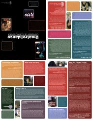 Brochure - College of Arts and Sciences - University of Mary ...