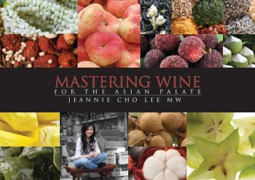 Mastering Wine for the Asian Palate Book Brochure