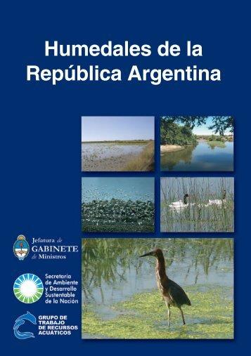 Humedales de la República Argentina - Secretaria de Ambiente y ...