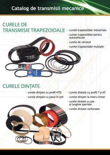 canice Catalog de transmisii mecanice CURELE DE TRANSMISIE ...