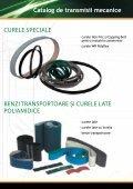 canice Catalog de transmisii mecanice CURELE DE TRANSMISIE ... - Page 4