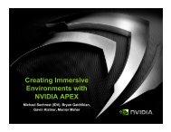 APEX Vegetation - Nvidia