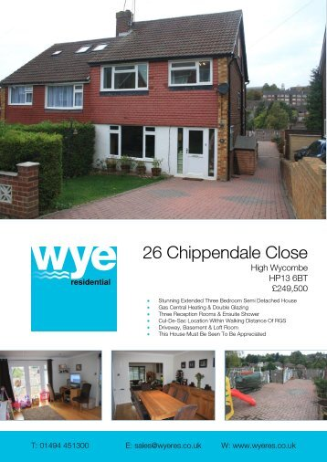 26 Chippendale Close - Expert Agent
