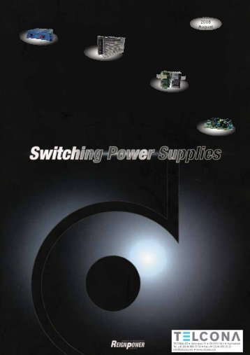 The best switching power supply solution by Reign power - Telcona