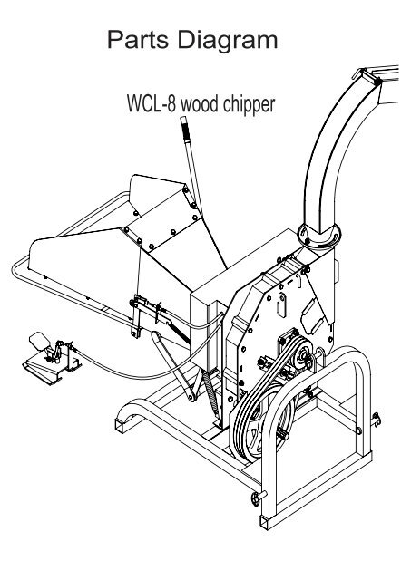 Wood Chipper Engine Diagram