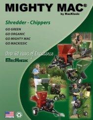 Shredder - Chippers