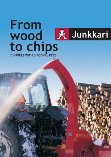 CHIPPERS WITH DIAGONAL FEED - Scantrax.be