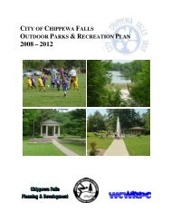 Outdoor Parks & Recreation Plan - City of Chippewa Falls