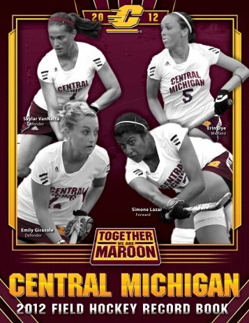 2012 Field Hockey Record Book - Central Michigan University ...